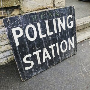 Polling Day 12th December - are you registered to vote? 1