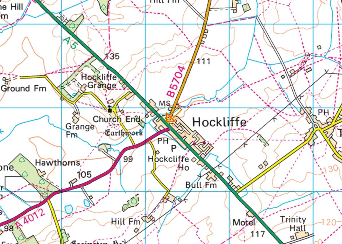 Hockliffe Map