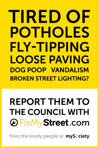 FixMy Street Poster
