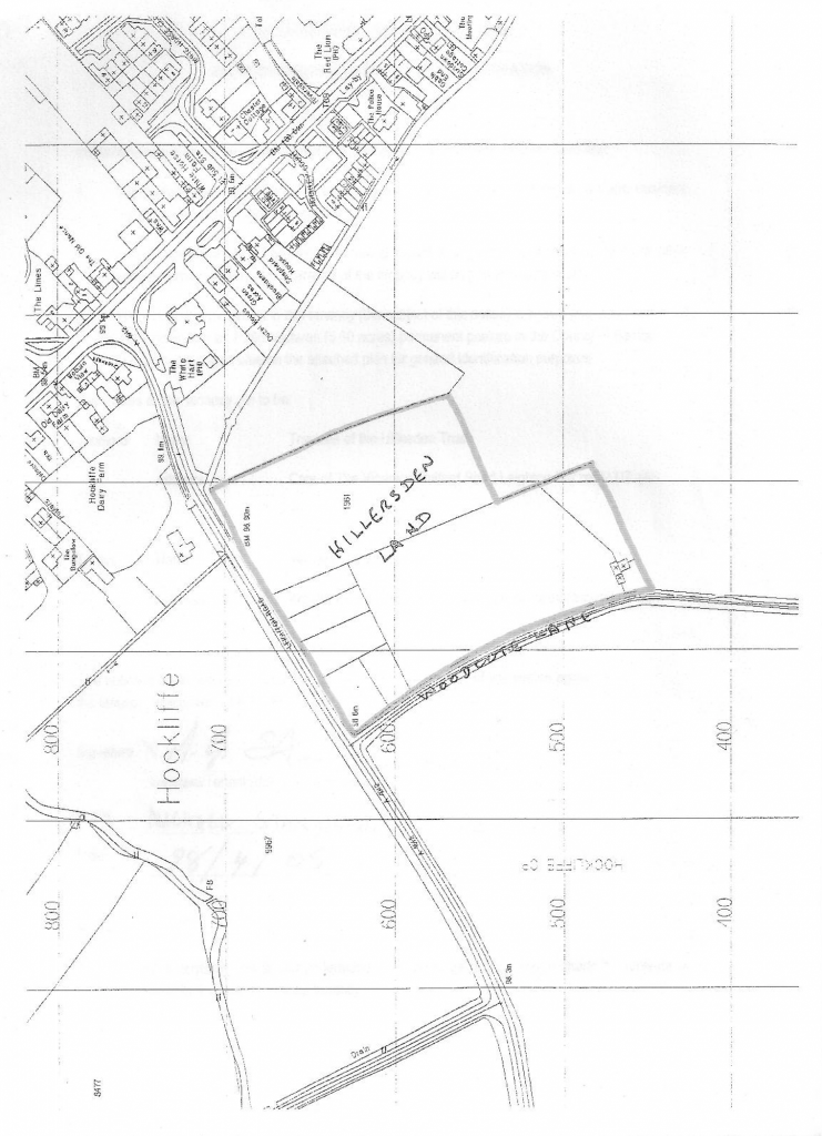 Hillersdon land map